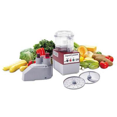 r2n 3 qt commercial food processor clear