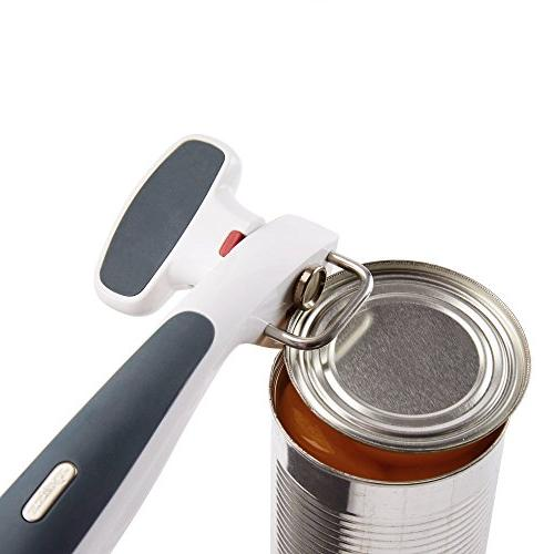 Zyliss Safe Edge Opener, Manual - Open Without Lids - Safety - Gray