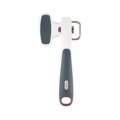 safe edge can opener gray
