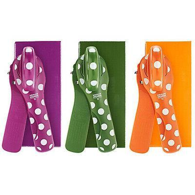 set of 3 polka dot can openers