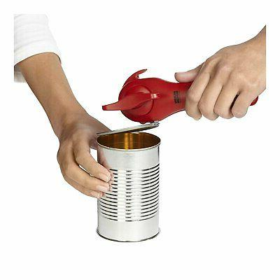 Lidlifter + Manual Can Opener, Red
