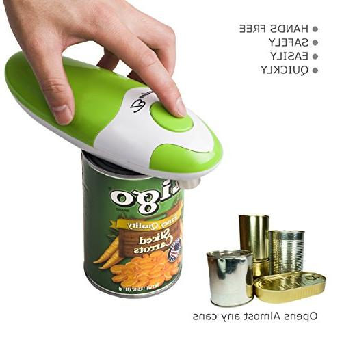 Can Opener, Opener, Creates And Smooth Edges, BangRui Can Opener With One-Touch Switch, Chef's