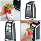 Smooth Touch Can Opener Large Ergonomic Lever Black and Chro
