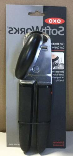 OXO SoftWorks Soft Handled Can Opener 87051 W/ Integrated Ca