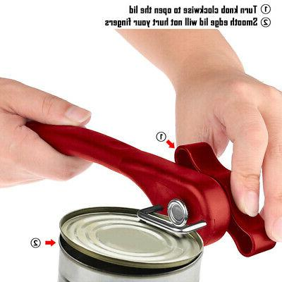 Stainless Edge Manual Can Opener Tin Lid Lifter Kitchen Tool