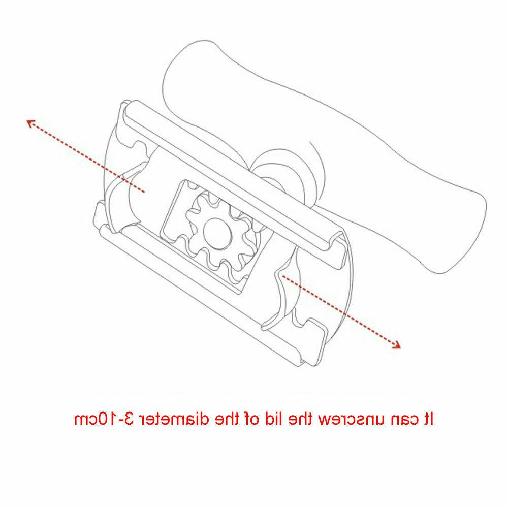Stainless Steel Manual Non-slip Bottle Jar Opener