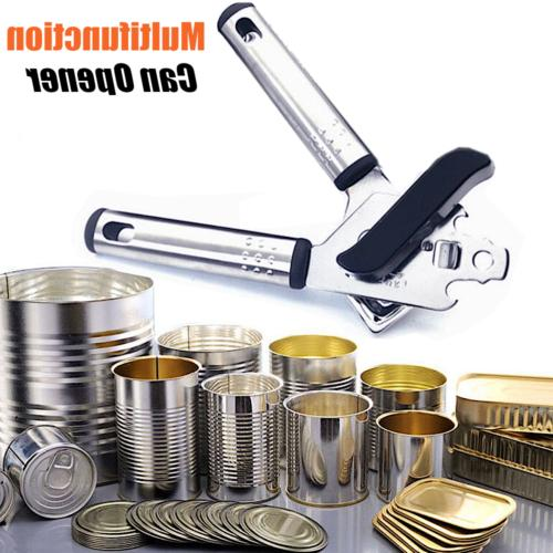 stainless steel can opener bottle kitchen aid