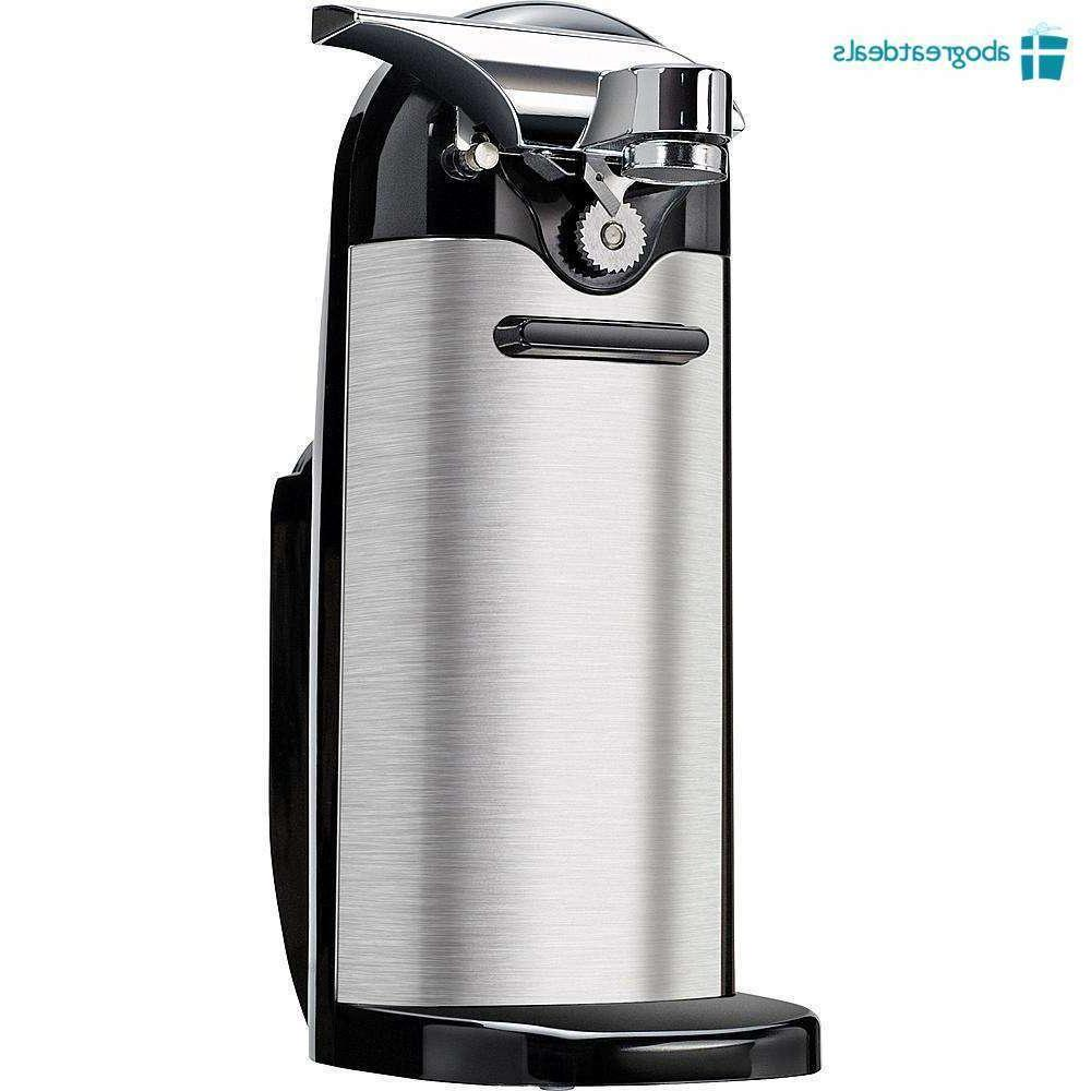 Stainless Electric Opener Kenmore with Sharpener