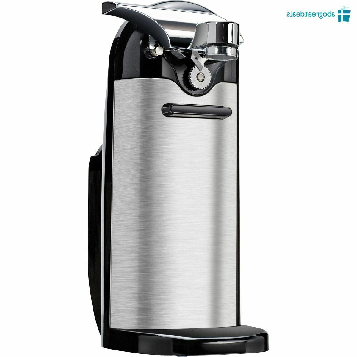 Stainless Steel Electric Can Opener Kenmore with Sharpener SHIPPING