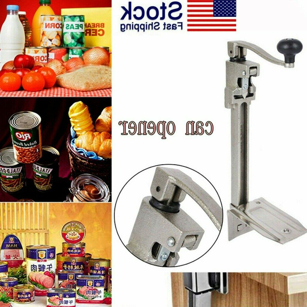 stainless steel table mount can opener up
