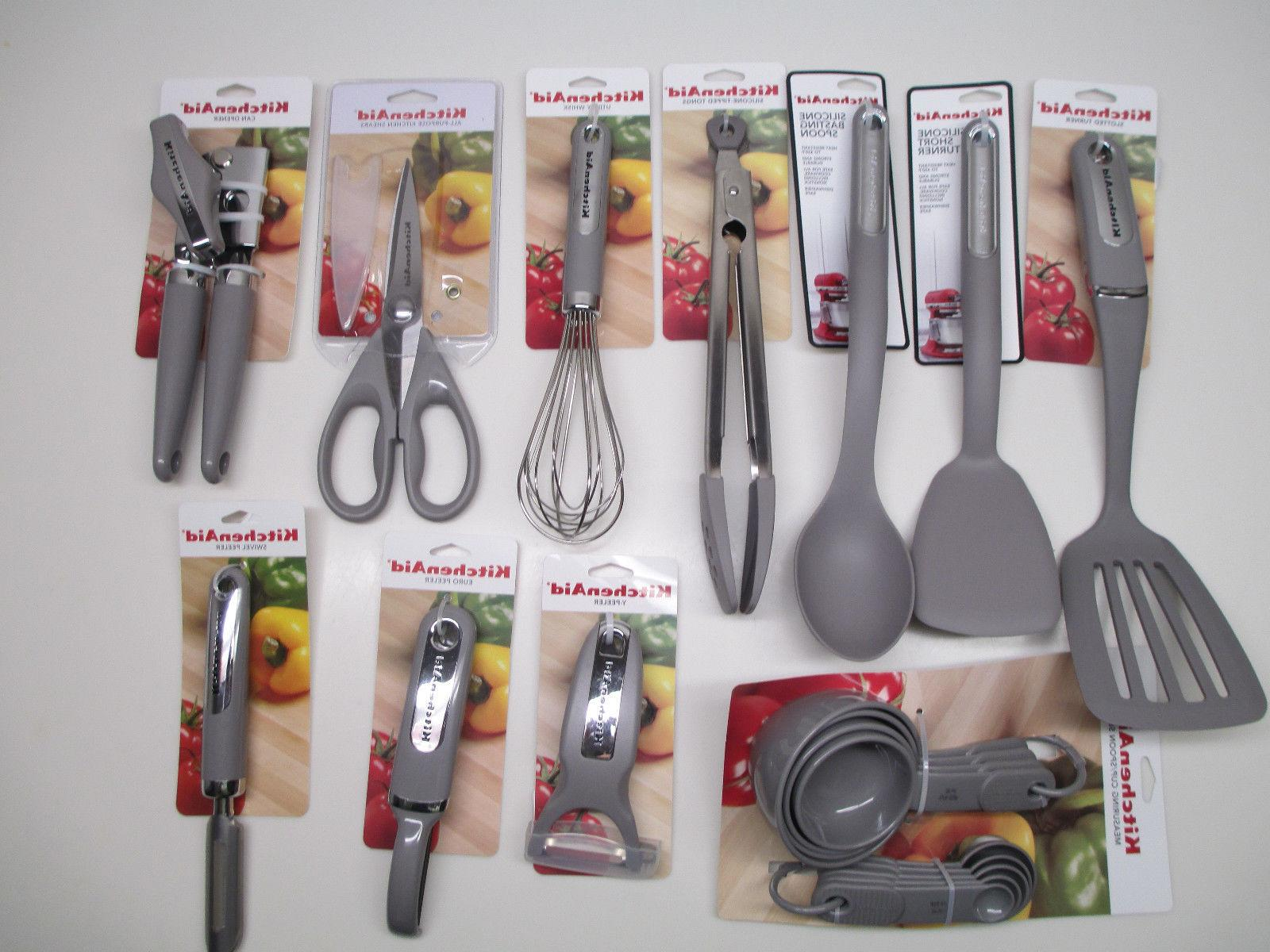 KitchenAid Storm Gray Kitchen utensils
