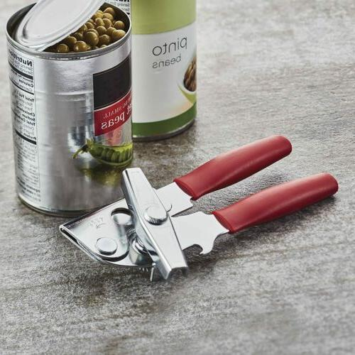 with Opener, Handles - Red