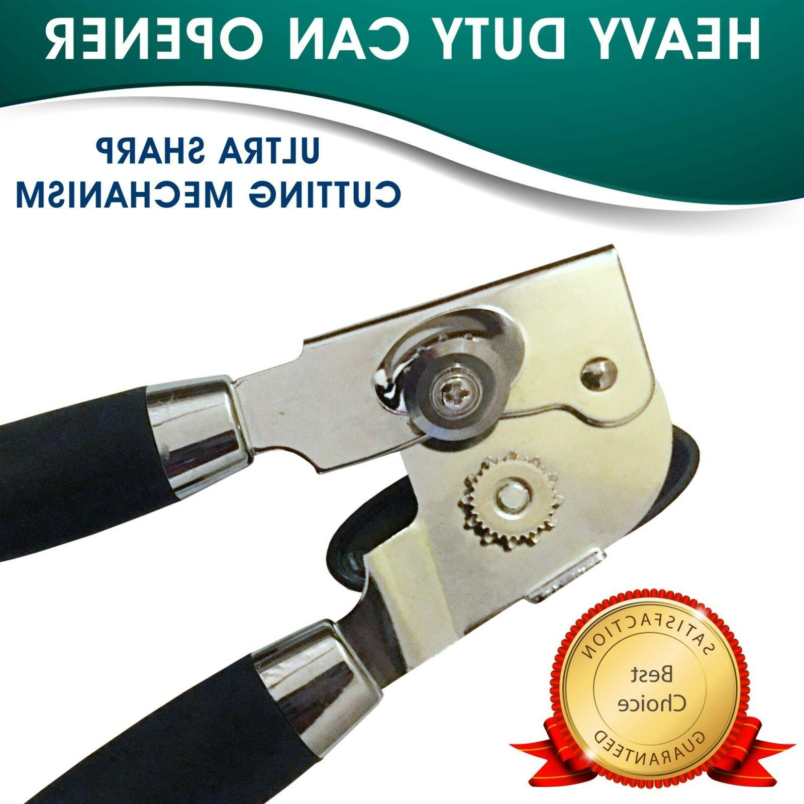 Kennai Best Can Opener Professional Heavy Duty. Smooth Edges Stainless St...