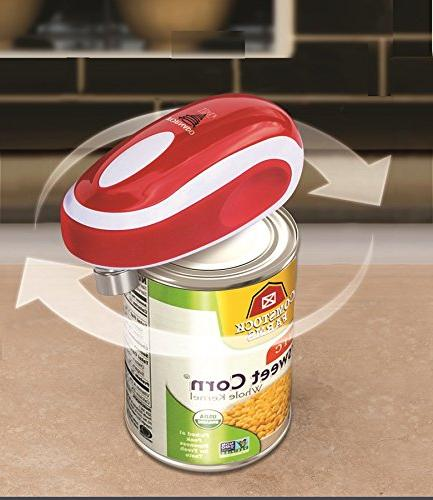 - New - Safest, Easiest Hands-Free Can Opener
