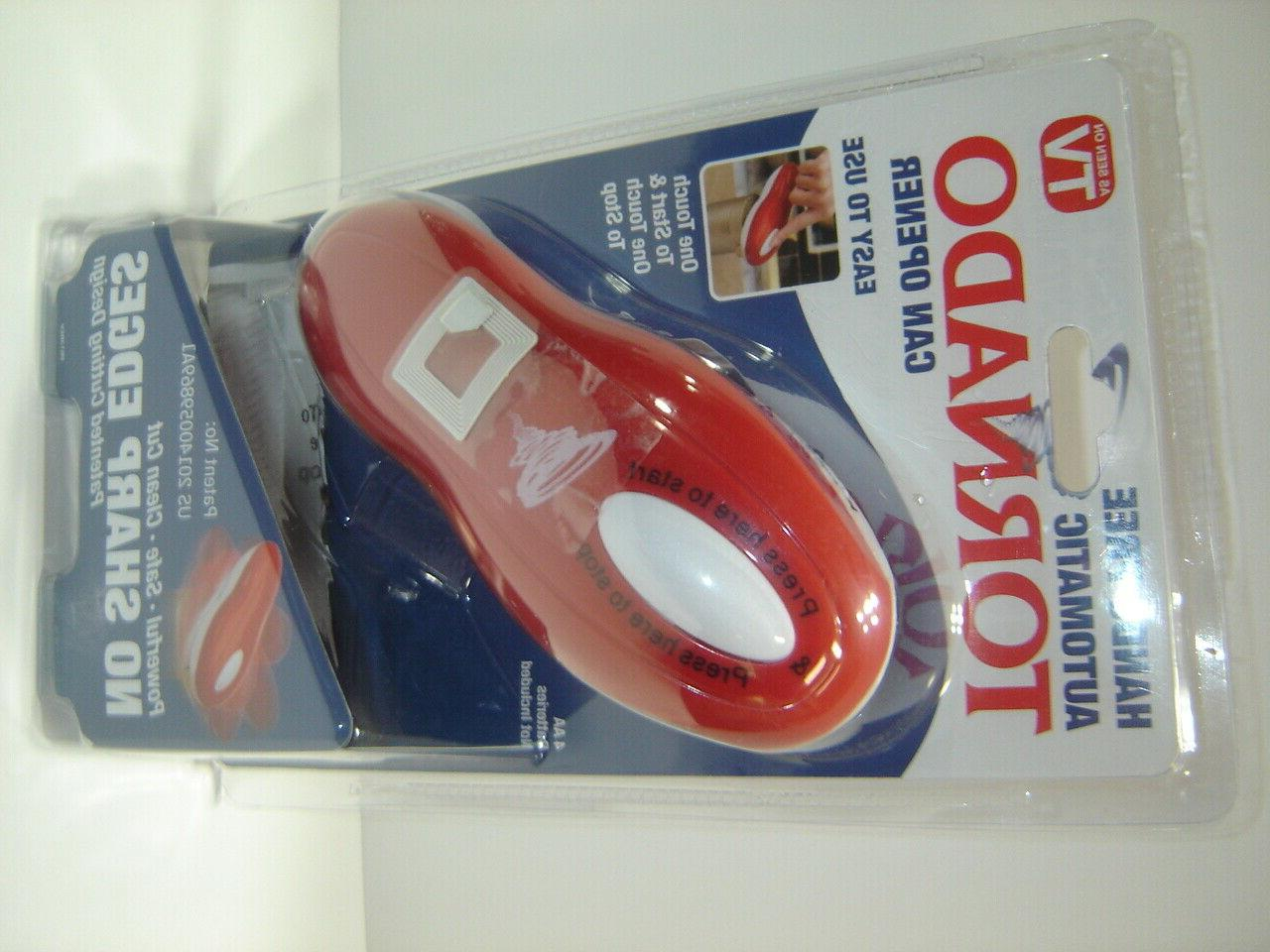 Tornado Automatic Can Opener One Touch To Start & As Seen On TV