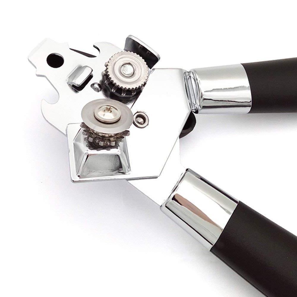 US Opener Steel Anti-Slip Easy Manual Black