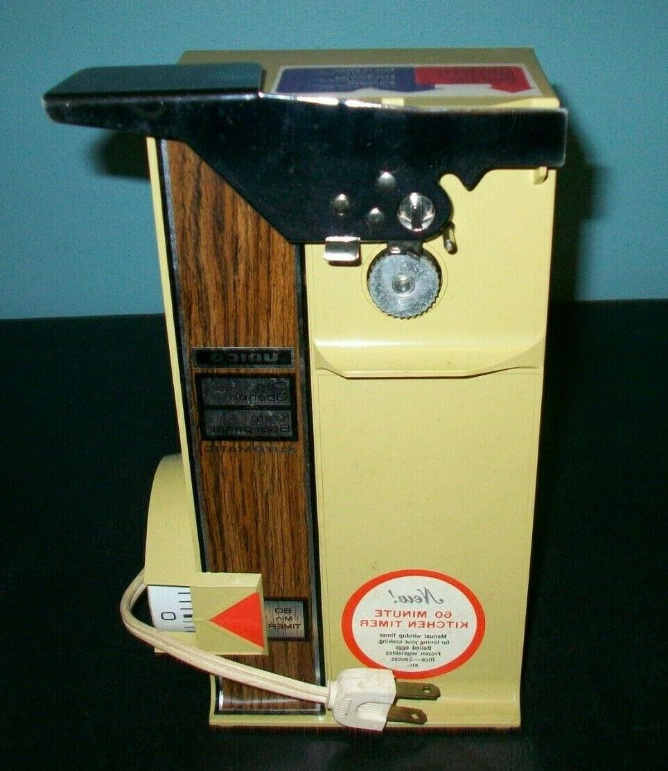 Vintage Electric Can Opener Sharpener 7133..New In