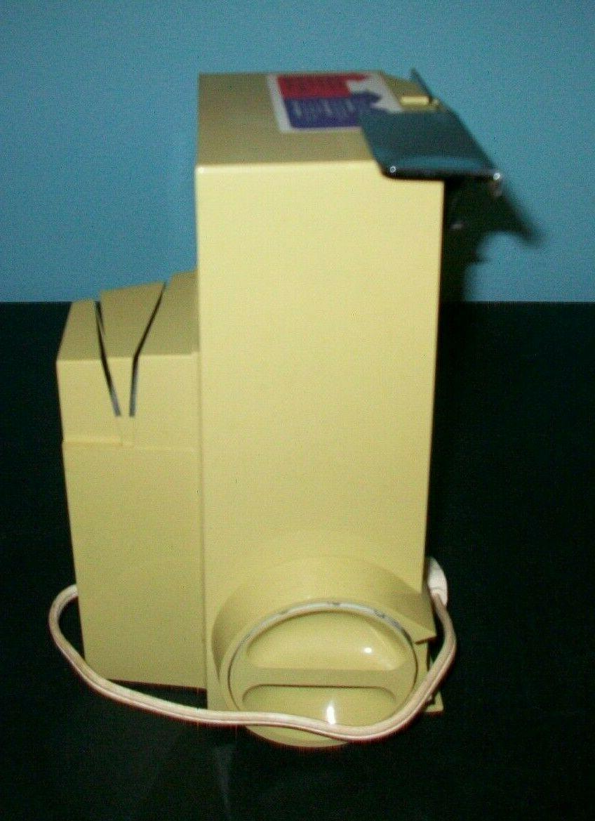 Vintage Gold UDICO Electric Can Opener Model 7133..New In