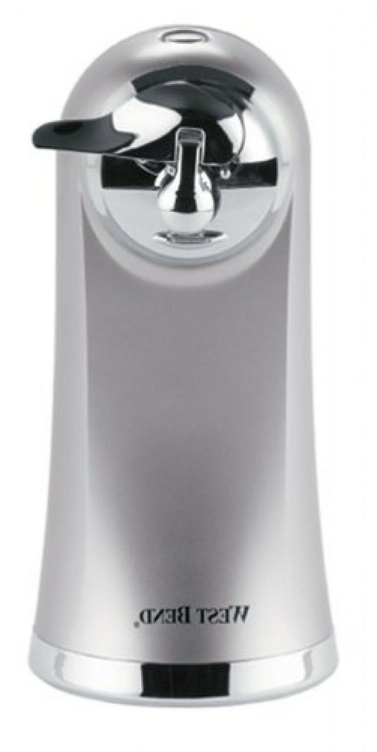 West Bend 77203 Electric Can Opener, Metallic, New