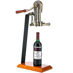 Legacy Corkscrew with Birch Stand Antique Pewter