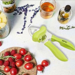 LIMITED TIME DEAL !! MAHI Can opener Manual - 4 in1  Stainle