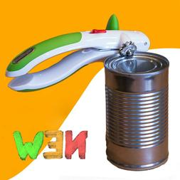 ZYLISS Lock N' Lift Can Opener with Lid Lifter Magnet Green