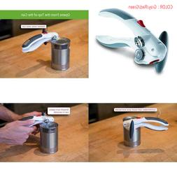 ZYLISS Lock N' Lift Manual Can Opener with Lid Lifter Magnet