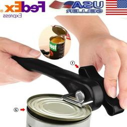 Manual Bottle Tin Can Opener Safe Cut Lid Cover Smooth Edge