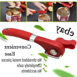 Manual Tin Can Opener Heavy Duty Hand Best Safety Smooth Edg