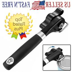 Manual Tin Can Opener New Heavy Duty Hand Best Safety Smooth