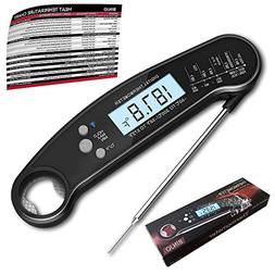 Digital Meat Thermometer for Grilling, IP67 Waterproof Kitch