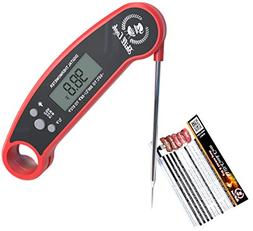Digital Meat Thermometer - Pro Instant Read Portable Food Wa