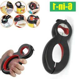 Multi All In One 6-in-1 Jar Bottle Opener Kit Can Opener Kit