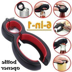 Multifunction Gadget Bottle Opener Kitchen & Dining Jar Grip
