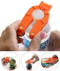 Brenium Multifunctional Bottle Can Opener, Plastic Water Bot