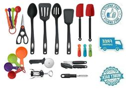 New 22pc Kitchen Utensil Tool Set Can Opener Pizza Cutter Me