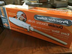 NEW Proctor Silex 74311Y Electric Knife Carving - Foam Cutti