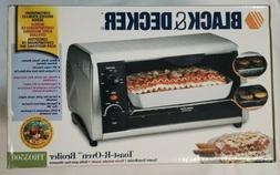 NEW Black Decker Spacemaker Toast-R-Oven Toaster Broiler Und