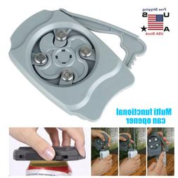 New Durable Can Top Remover Opener Bar Tool Safety Easy Manu