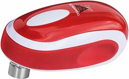 new f4 electric can opener in red