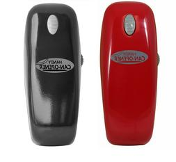 New Handy Automatic Can Opener in Black or Red One Touch Fre