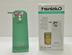 New Jade Green Cuisinart Tall Electric Can Opener Co-W Jade