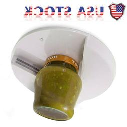 NEW Jar Opener for Weak Hands Under Cabinet Lid Openers for