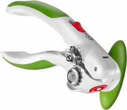 ZYLISS Lock N' Lift Can Opener with Lid Lifter Magnet,Green-