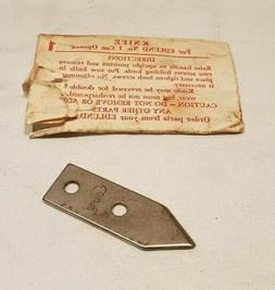 New Old Stock, Replacement Knife for Edlund No.1 Commercial