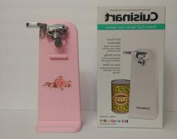 New Pink Cuisinart Electric Can Opener, Co/W Pink Kitchenaid
