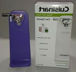 New Purple Cuisinart Tall Electric Can Opener, Co-W Grape Ki