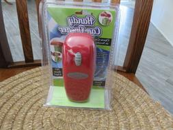 New Red Handy Can Opener Automatic One Touch Electric Can Op