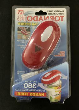 New TORNADO F4 HANDS FREE AUTOMATIC CAN OPENER........ As Se