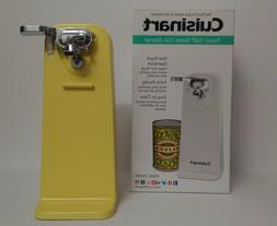 New Yellow Cuisinart Tall Electric Can Opener, Buttercup Yel